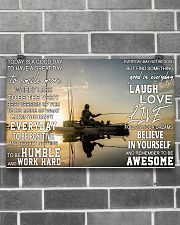 Kayak fishing today is a good day pt dvhh pml 17x11 Poster poster-landscape-17x11-lifestyle-18