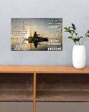 Kayak fishing today is a good day pt dvhh pml 17x11 Poster poster-landscape-17x11-lifestyle-24