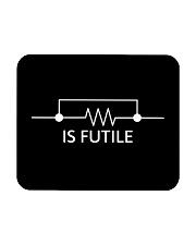 Electrician Resistance Is Futile mas Mousepad tile