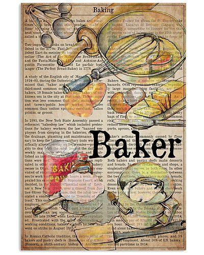 baker text watercolor