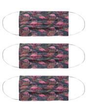 Flamingo Msk 1 Cloth Face Mask - 3 Pack front