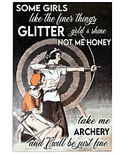 Archery girl some girl like finer thing lqt -ntv 11x17 Poster front
