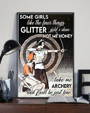 Archery girl some girl like finer thing lqt -ntv 11x17 Poster lifestyle-poster-2