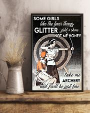 Archery girl some girl like finer thing lqt -ntv 11x17 Poster lifestyle-poster-3