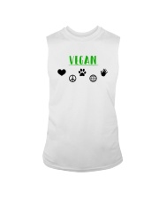 Women's The Future is Vegan Love and Peace Sleeveless Tee thumbnail