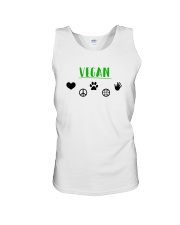 Women's The Future is Vegan Love and Peace Unisex Tank thumbnail