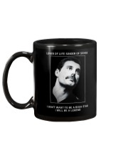 Freddie Mercury Mug back