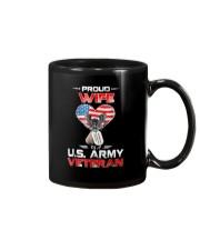 Proud Wife Of A US Army Veteran T Shirt Veteran Ts Mug thumbnail