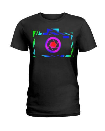 Colorful Camera Photographer Gift Photography Tshi