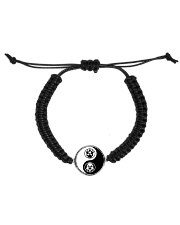 Yin Yang Hustler Bracelet Cord Circle Bracelet front