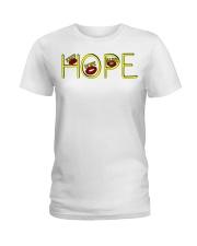 Hope Series Ladies T-Shirt front