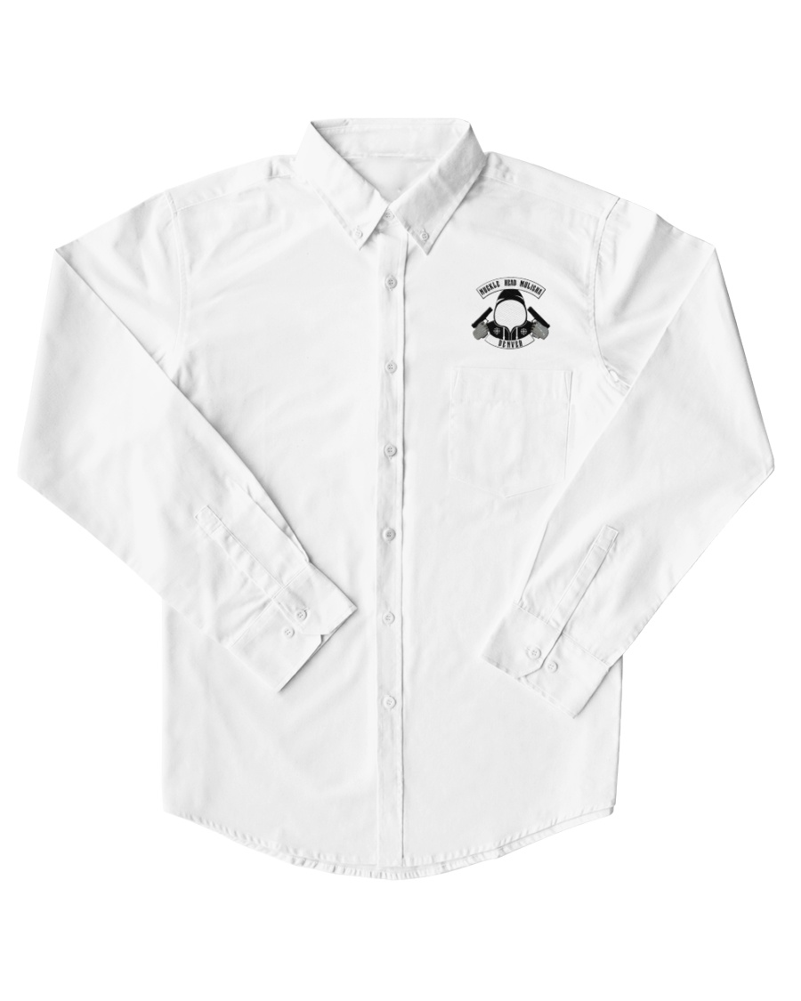Working Man's Button Up NHM Shirt Dress Shirt