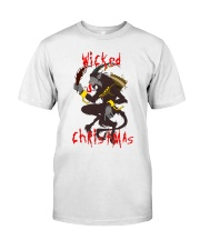 Krampus Wicked Christmas  Classic T-Shirt front