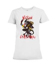 Krampus Wicked Christmas  Premium Fit Ladies Tee thumbnail
