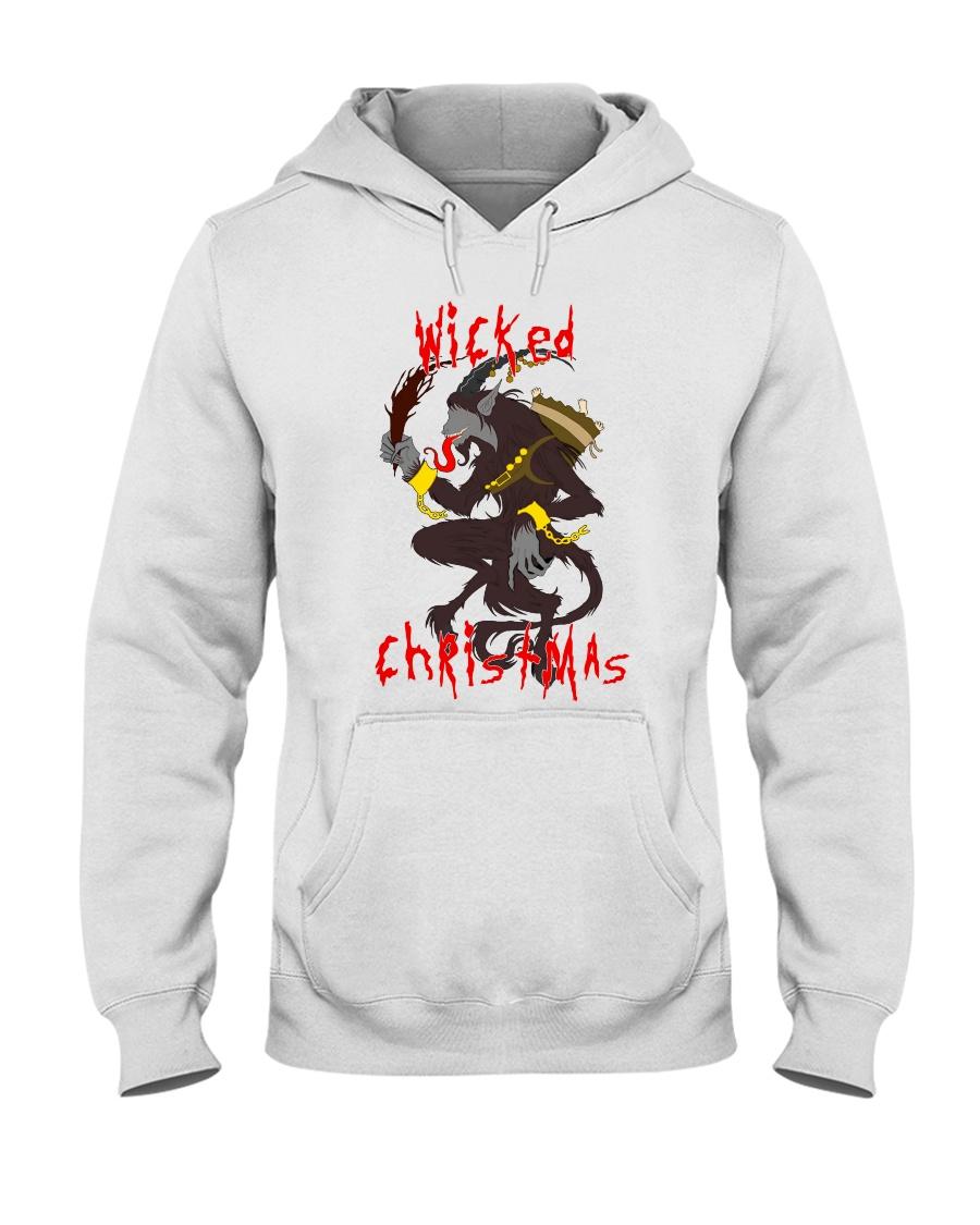 Krampus Wicked Christmas  Hooded Sweatshirt
