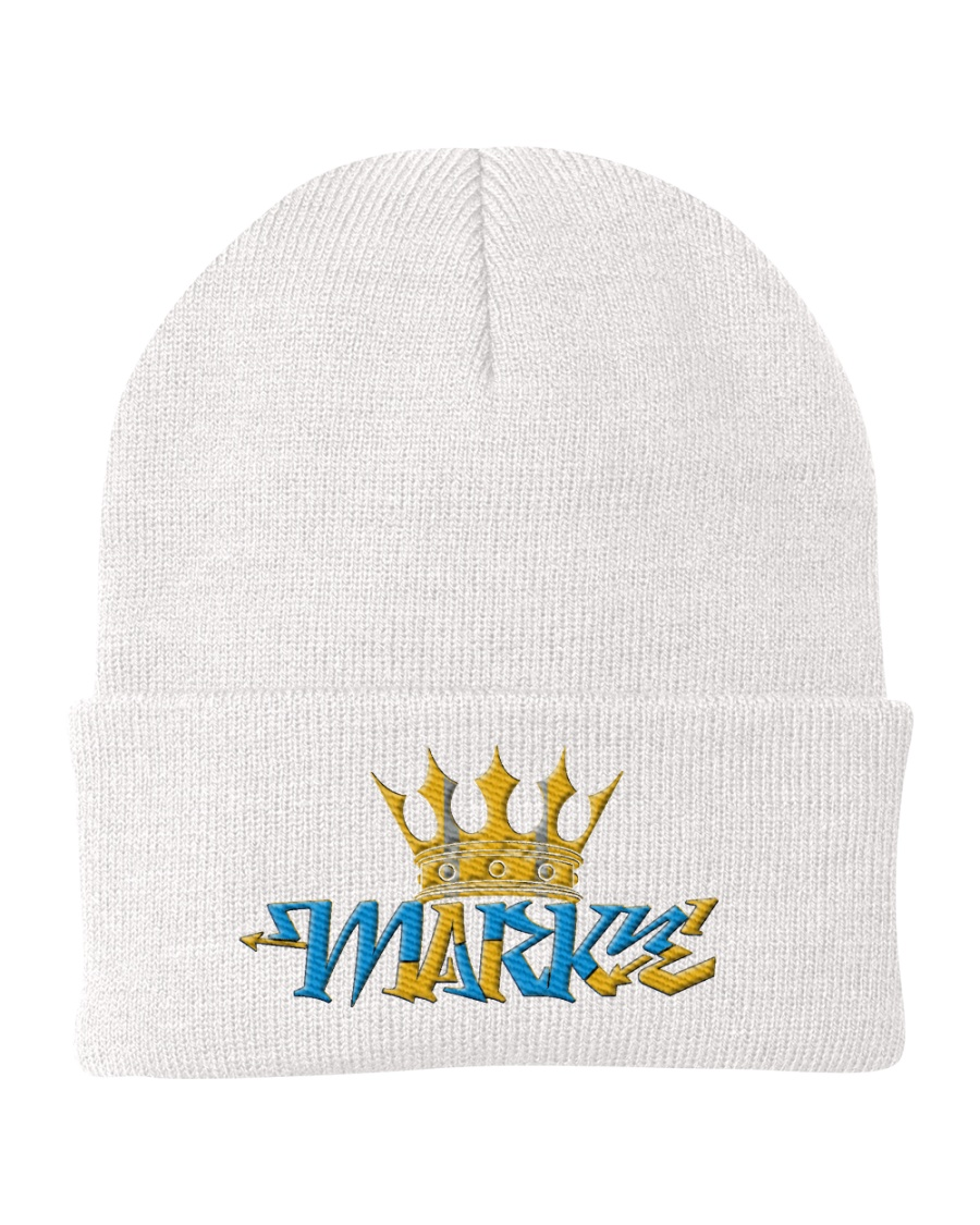 Prince Mark E Knit Beanie
