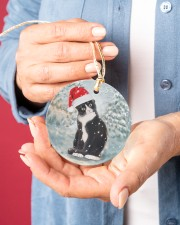 LIMITED EDITION - CAT LOVERS 10915A Circle ornament - single (porcelain) aos-circle-ornament-single-porcelain-lifestyles-01