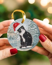 LIMITED EDITION - CAT LOVERS 10915A Circle ornament - single (porcelain) aos-circle-ornament-single-porcelain-lifestyles-08