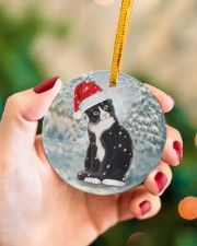LIMITED EDITION - CAT LOVERS 10915A Circle ornament - single (porcelain) aos-circle-ornament-single-porcelain-lifestyles-09