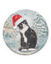 LIMITED EDITION - CAT LOVERS 10915A Circle ornament - single (porcelain) front