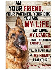LIMITED EDITION - DOG GERMAN SHEPHERD 10974A 11x17 Poster front