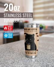 LIMITED EDITION - BLACK CAT - 6944TU 20oz Tumbler aos-20oz-tumbler-lifestyle-front-41