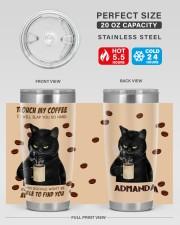 LIMITED EDITION - BLACK CAT - 6944TU 20oz Tumbler aos-20oz-tumbler-lifestyle-front-60