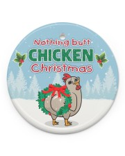 LIMITED EDITION - FUNNY CHICKEN 90128A Circle ornament - single (porcelain) front