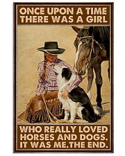 LIMITED EDITION - HORSE LOVERS 80083P  11x17 Poster front