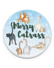 LIMITED EDITION - CAT LOVERS 90057A Circle ornament - single (porcelain) front