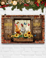 LIMITED EDITION - FARMER CHICKEN LOVERS - 80252P 17x11 Poster aos-poster-landscape-17x11-lifestyle-28