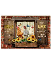 LIMITED EDITION - FARMER CHICKEN LOVERS - 80252P 17x11 Poster front