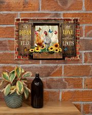 LIMITED EDITION - FARMER CHICKEN LOVERS - 80252P 17x11 Poster poster-landscape-17x11-lifestyle-23
