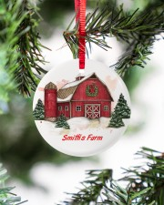 LIMITED EDITION - FARM LOVERS - 80217P Circle ornament - single (porcelain) aos-circle-ornament-single-porcelain-lifestyles-07