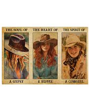 LIMITED EDITION - COWGIRL - POS90217TU 17x11 Poster front