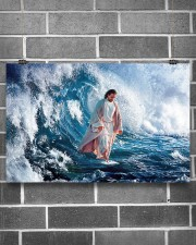LIMITED EDITION - HE WALKED ON WATER - 90277TU 17x11 Poster aos-poster-landscape-17x11-lifestyle-18