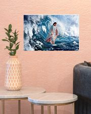 LIMITED EDITION - HE WALKED ON WATER - 90277TU 17x11 Poster poster-landscape-17x11-lifestyle-21