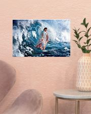 LIMITED EDITION - HE WALKED ON WATER - 90277TU 17x11 Poster poster-landscape-17x11-lifestyle-22
