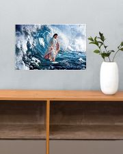 LIMITED EDITION - HE WALKED ON WATER - 90277TU 17x11 Poster poster-landscape-17x11-lifestyle-24