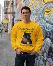 LIMITED EDITION - MY CAT - 90378TU Crewneck Sweatshirt lifestyle-unisex-sweatshirt-front-2