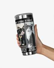 LIMITED EDITION - BLACK CAT BE STRONG - 6954TU 20oz Tumbler aos-20oz-tumbler-lifestyle-front-21