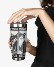 LIMITED EDITION - BLACK CAT BE STRONG - 6954TU 20oz Tumbler aos-20oz-tumbler-lifestyle-front-25
