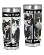 LIMITED EDITION - BLACK CAT BE STRONG - 6954TU 20oz Tumbler front