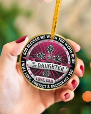 LIMITED EDITION - TO MY DAUGHTER - 10967TU Circle ornament - single (porcelain) aos-circle-ornament-single-porcelain-lifestyles-09