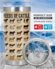 LIMITED EDITION - COWS KNOWLEDGE - 90041TU 20oz Tumbler aos-20oz-tumbler-lifestyle-front-49