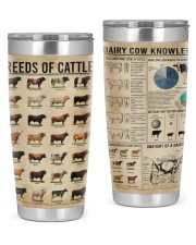LIMITED EDITION - COWS KNOWLEDGE - 90041TU 20oz Tumbler front
