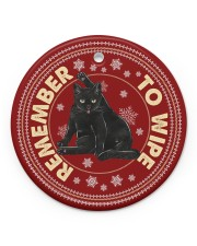 LIMITED EDITION - CAT LOVERS 11026A Circle ornament - single (porcelain) front