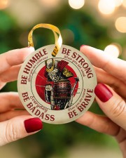 LIMITED EDITION - BE STRONG - 80313TU Circle ornament - single (porcelain) aos-circle-ornament-single-porcelain-lifestyles-08