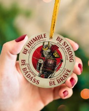 LIMITED EDITION - BE STRONG - 80313TU Circle ornament - single (porcelain) aos-circle-ornament-single-porcelain-lifestyles-09