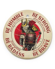 LIMITED EDITION - BE STRONG - 80313TU Circle ornament - single (porcelain) front